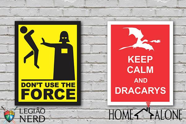 placas decorativas nerds