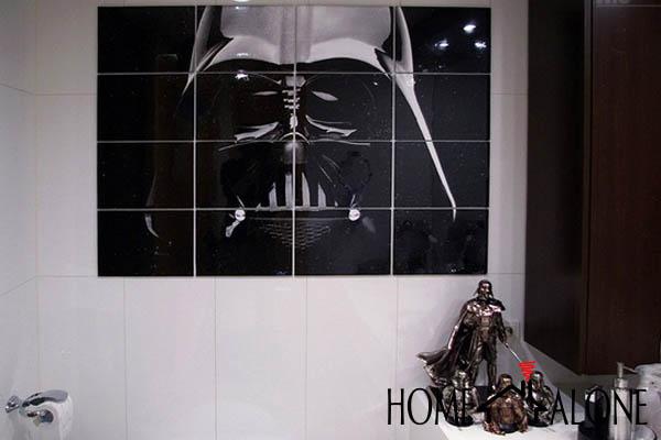 decoração nerd star wars
