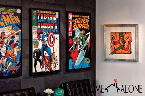 decoração super heróis