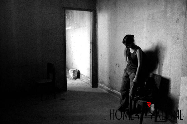 lado ruim de morar sozinho