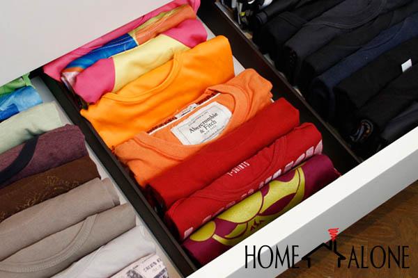 dobrar camisetas