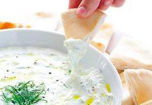 pasta de iogurte grego e limão