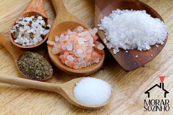 tipos de sal morar sozinho