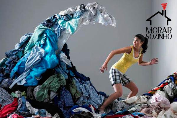 máquina de lavar morar sozinho