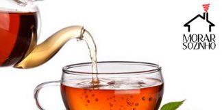 tipos de chá morar sozinho