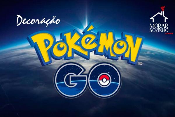 decoração pokemon go