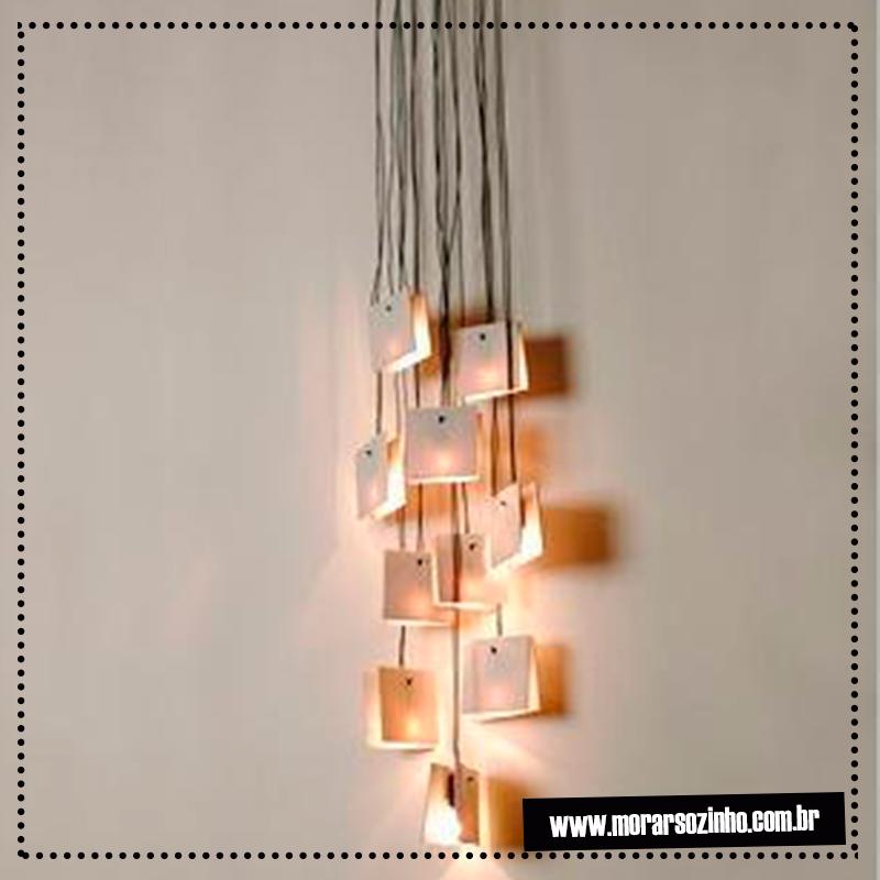 luminárias DIY