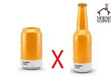 cerveja de lata morar sozinho