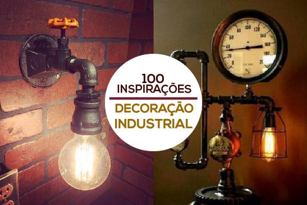 decoração industrial dicas morar sozinho