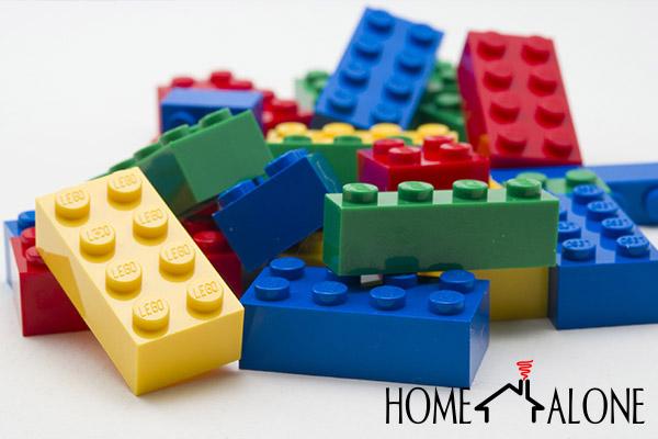 decoração com lego DIY