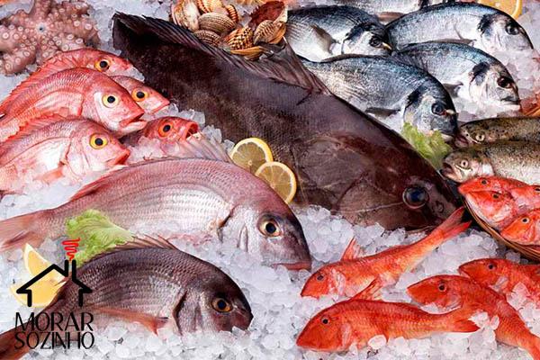 como escolher peixes