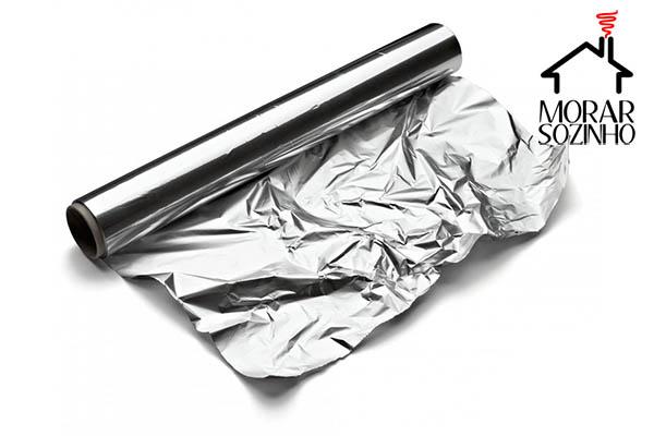 papel alumínio dicas e truques