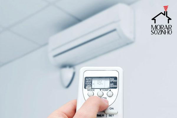 como escolher ar condicionado morar sozinho