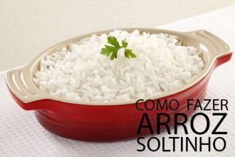 como fazer arroz soltinho de mãe dicas morar sozinho receitas fáceis